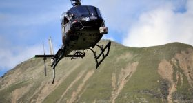 Helicopter survey in Horlachtal and Martelltal successful